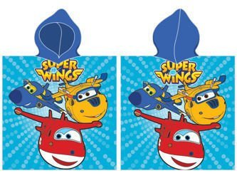 Pončo Super Wings 01-1 50x100 cm